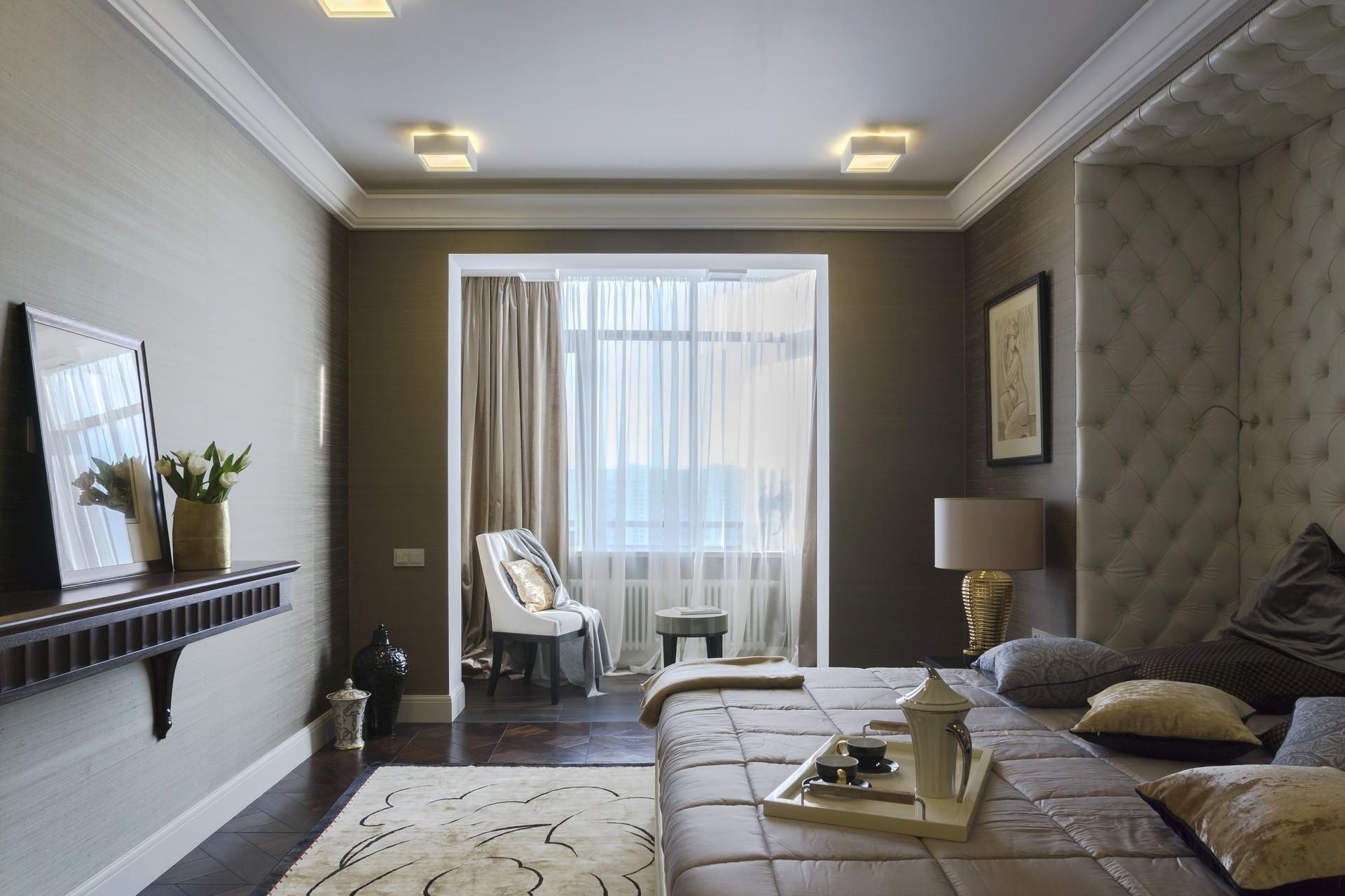 сенсорные светильники для спальни