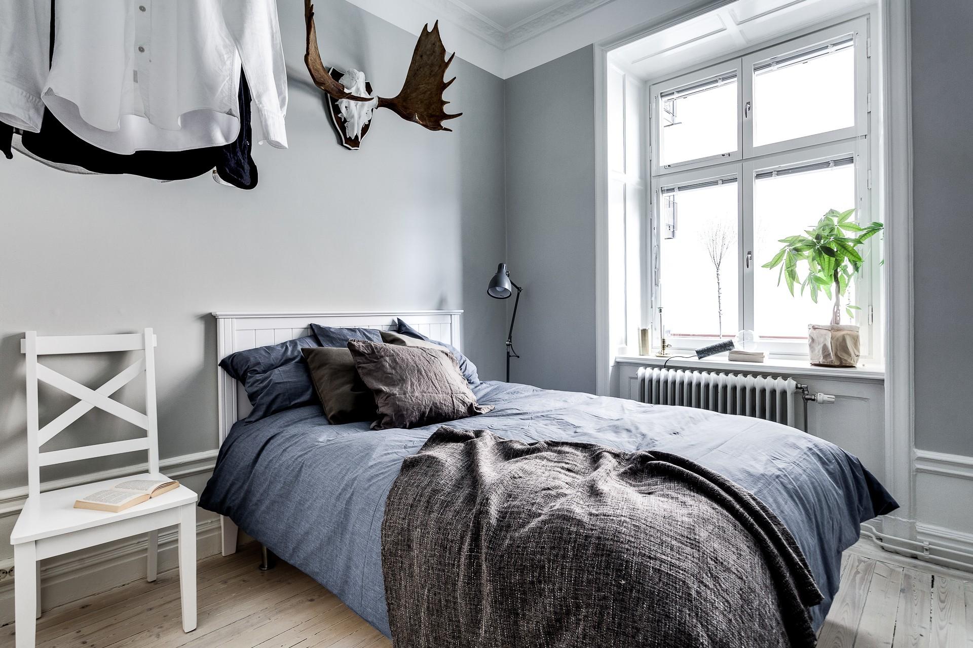обустройство небольшой спальни