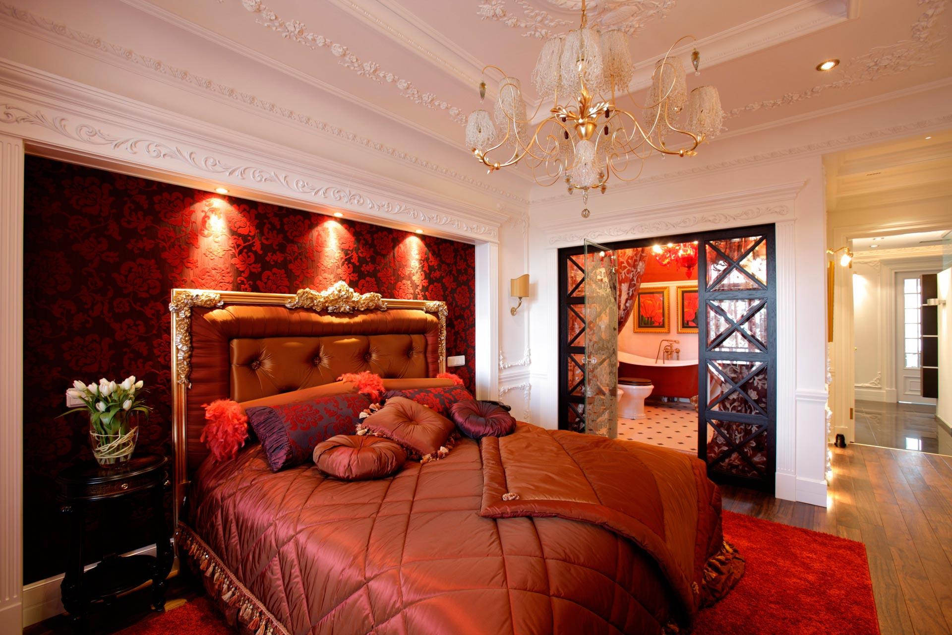 настенные светильники в спальню