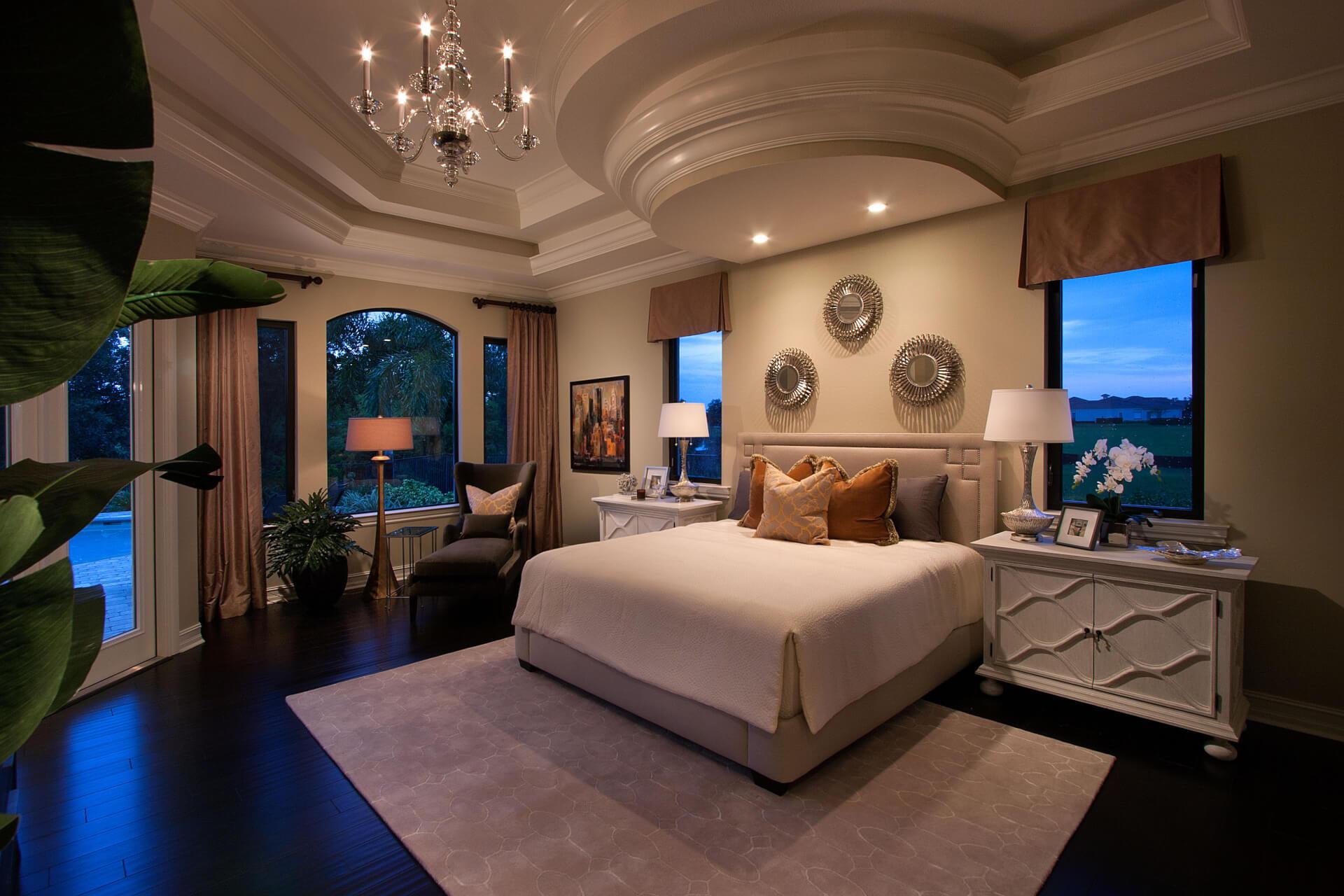 светодиодный светильник для спальни