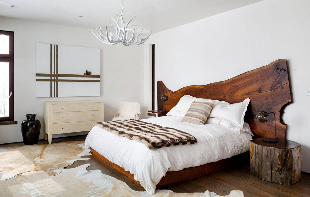 большое помещение спальни