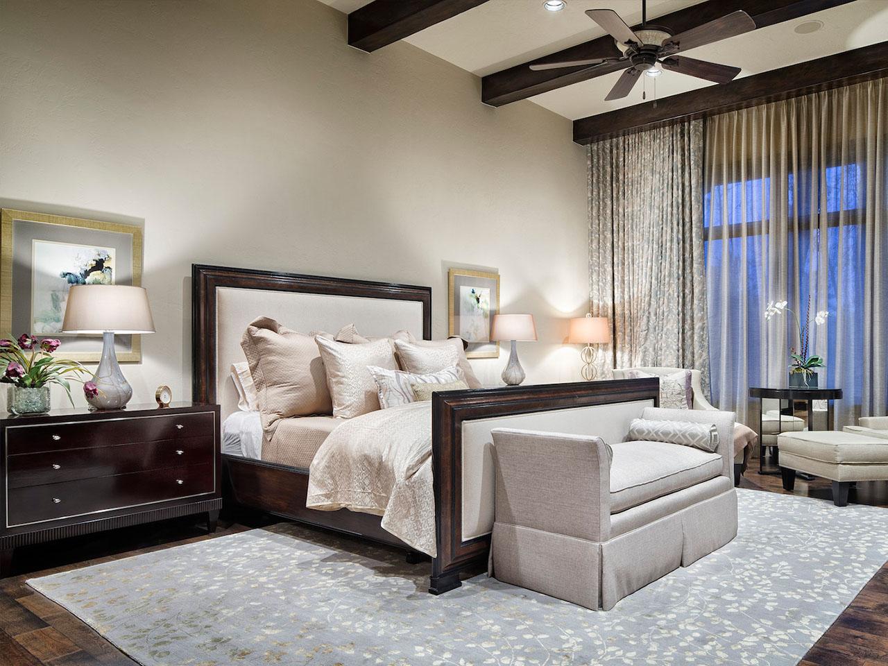 спальня в средиземноморском стиле дизайн