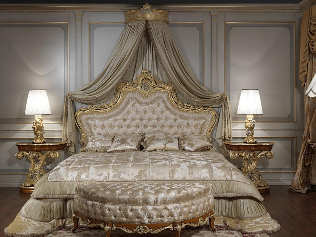 спальня в стиле барокко фото интерьеров