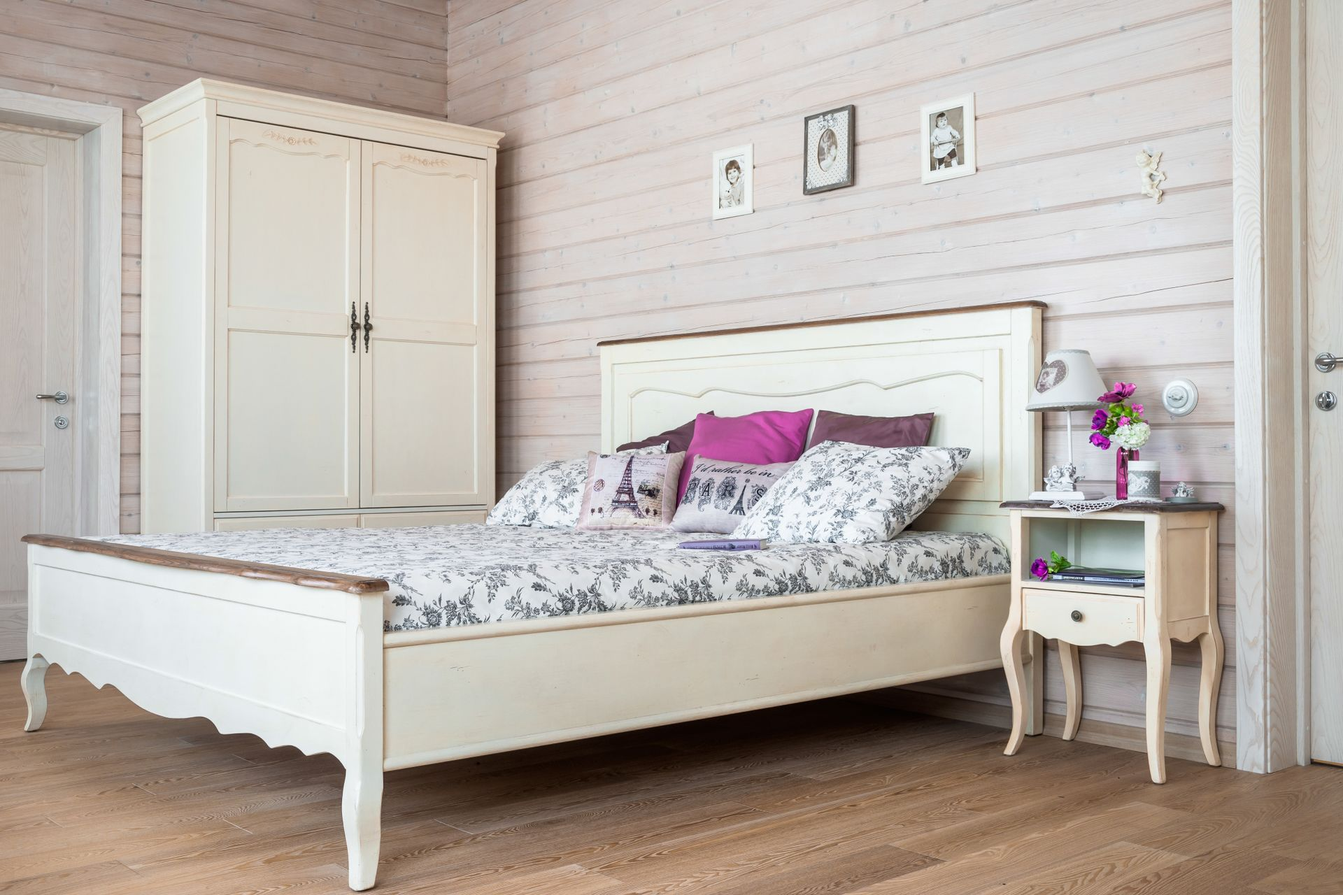 спальни в стиле кантри фото интерьер