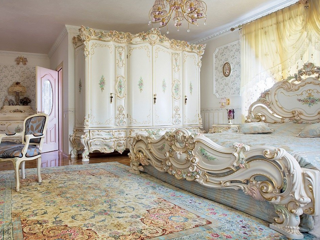 цветовая палитра стиля барокко
