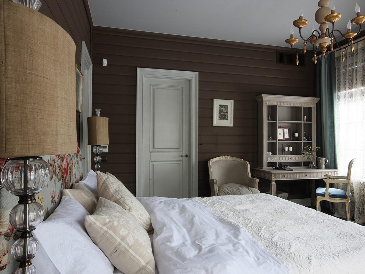 главный элемент интерьера – кровать