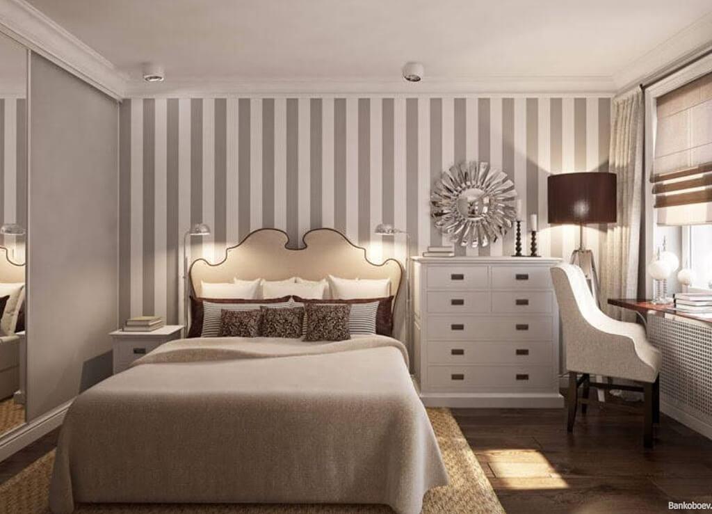 Как выбрать идеальные обои для спальни?