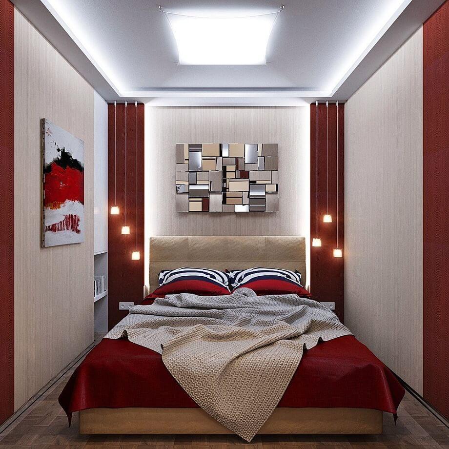 Длинная спальня