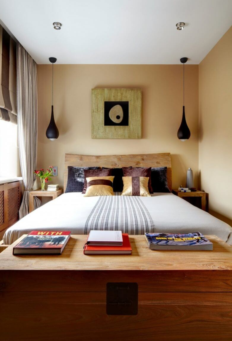 Светильники для маленькой спальни