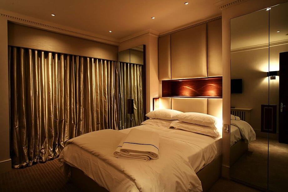 Варианты освещения спальни