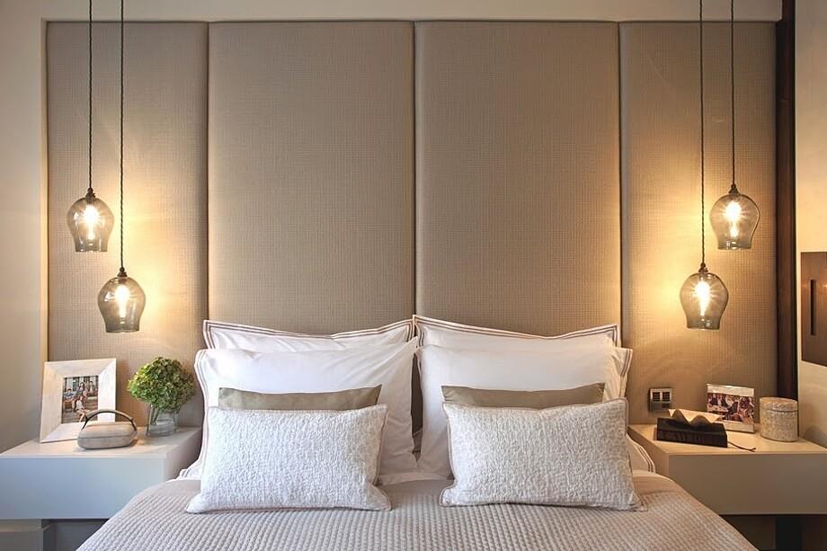 Светильники для светлой отделки стен